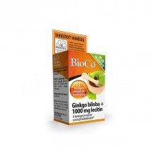 Bioco gingko biloba+lecitin 1000mg tabletta 90db