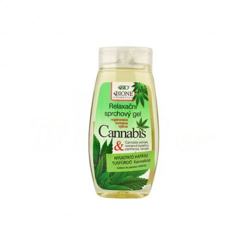Vásároljon Bione cosmetics cannabis nyugtató hatású tusfürdő 250ml terméket - 2.291 Ft-ért