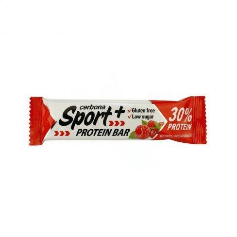 Cerbona sport+ protein szelet piros gyümölcsös 50 g