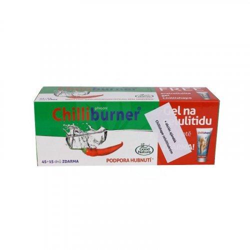 Zsírégető Chili tabletta - szabadalommal, egy tablettában 15db chilipaprika kapszaicinnel