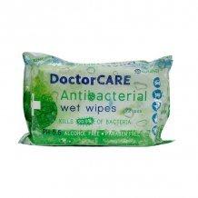 Doctor care antibakteriális törlőkendő 72db