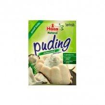 Haas natural pudingpor kókuszízű 40g