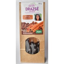 Szafi reform termékcsalád eritrites fahéjas mazsola drazsé (gluténmentes, vegán, paleo) 200g