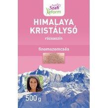 Szafi reform termékcsalád himalaya kristálysó, rózsaszín, finomszemcsés 500g
