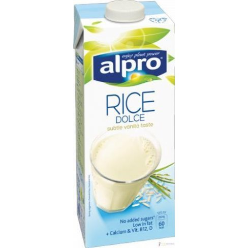 Alpro rizsital dolce vanília 1000ml