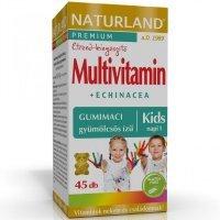 Naturland gyerek multivitamin gumitabletta 45db