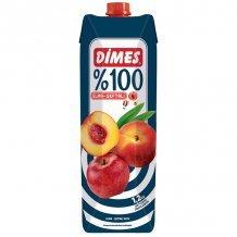 Dimes premium alma és őszibaracklé 100% 1000ml