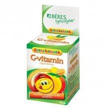 Béres c-vitamin rágótabletta gyerekeknek citrom-narancs 30db
