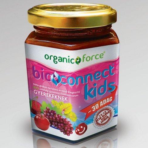 Bioconnect kids bio zöldség-gyümölcs koncentrátum béta-glükánnal 210g