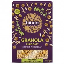 Biona bio zabmüzli cukor és búzamentes 375 g