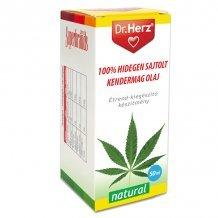 Dr.Herz kendermag olaj 100% hidegen sajtolt 50ml