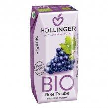 Höllinger bio gyümölcsital szőlő 200ml