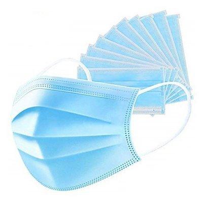 Orvosi szájmaszk 3 rétegű ( arcmaszk ) gumis 1db