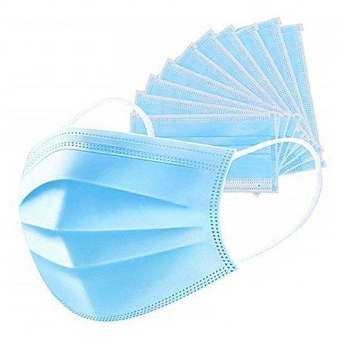Vásároljon Orvosi szájmaszk 3 rétegű ( arcmaszk ) gumis 1db terméket - 150 Ft-ért