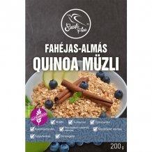 Szafi free termékcsalád fahéjas-almás quinoa müzli (gluténmentes, tejmentes, szójamentes) 200g