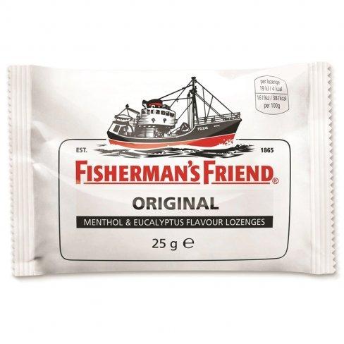 Fishermans friend extra erős mentolos-eukaliptuszos cukorka 25g