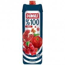 Dimes premium vegyes gyümölcslé piros gyümölcs 100% 1000ml