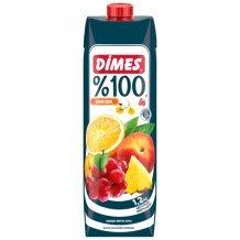 Dimes premium vegyes gyümölcslé sárga gyümölcs 100% 1000ml