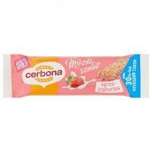 Cerbona szelet epres-joghurtos 20g