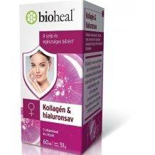 Bioheal kollagén & hialuronsav 60db