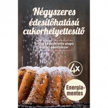 Fm négyszeres édesítőhatású cukorhelyettesítő (eritrit, szukralóz alapú) 1000g