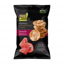 Gluténmentes rice up ibéria sonkás chips 60g