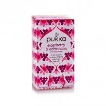 Pukka organic elderberry echinacea bio bodza tea 20x2g 40 g