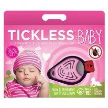 Tickless baby pink ultrahangos kullancsriasztó babák számára 1 db