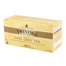 Twinings earl grey fekete tea 25x2g 50g