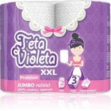 Violeta háztartási törlő 3 rét. 1 tek. prémium jumbo xxl