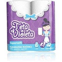 Violeta háztartási törlő super soft 2 rét. 2 tek.