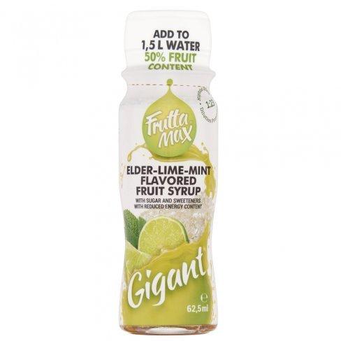 Frutta max szörp bodza-lime menta 62,5 ml