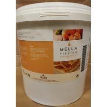 Mella sárgabarack töltelék süthető, fagyasztható kész gyümölcstöltelék 40 % gyümölcstartalommal 6 kg