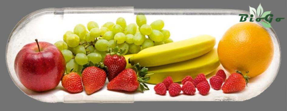 Bio étrendkiegészítők - Gyümölcs