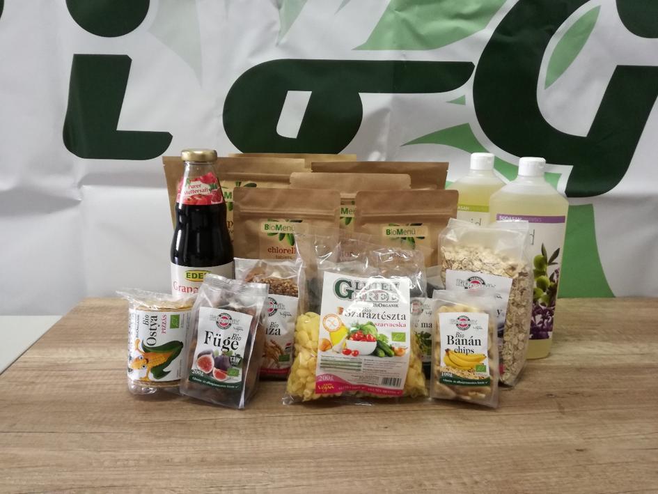 Gluténmentes élelmiszerek - Termékek